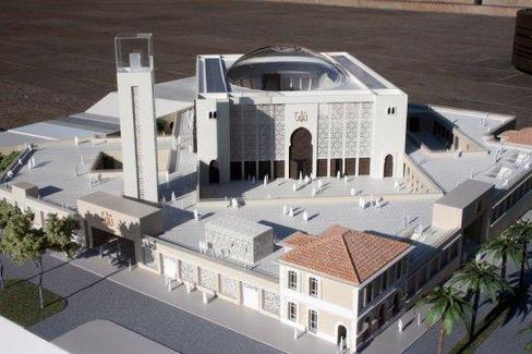 Marseille mosque model