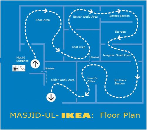 Masjid-ul-IKEA floor plan