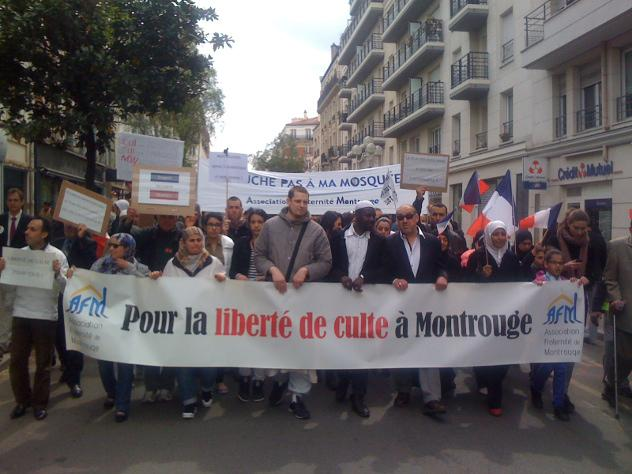 Montrouge protest