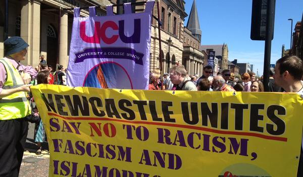 Newcaste Unites banner