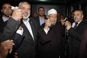 Qaradawi in Gaza