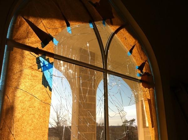 Virginia mosque vandalism
