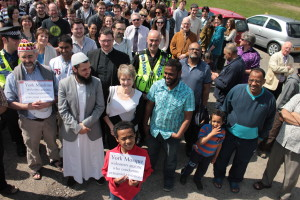 York mosque supporters