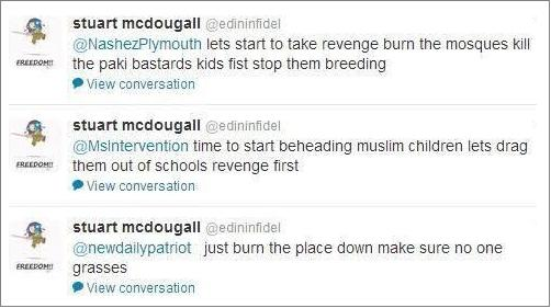 edininfidel threats