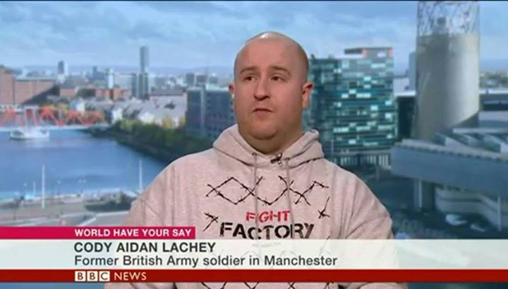 Cody Aidan Lachey on BBC News