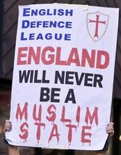 EDL England Will Never be a Muslim State