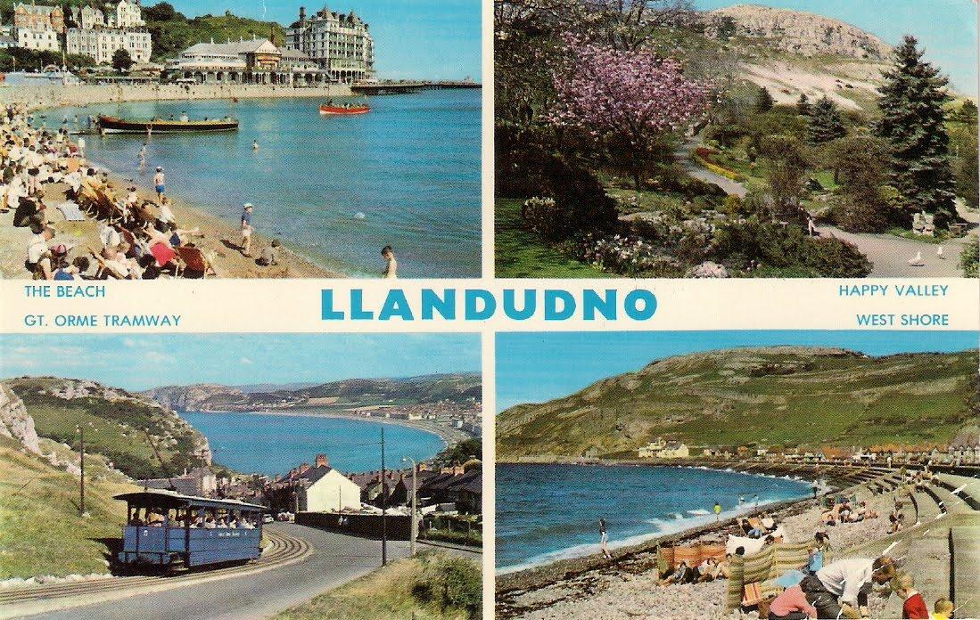 Llandudno postcard