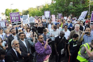 Muswell Hill vigil