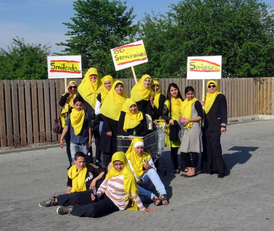 Netto hijab campaigners