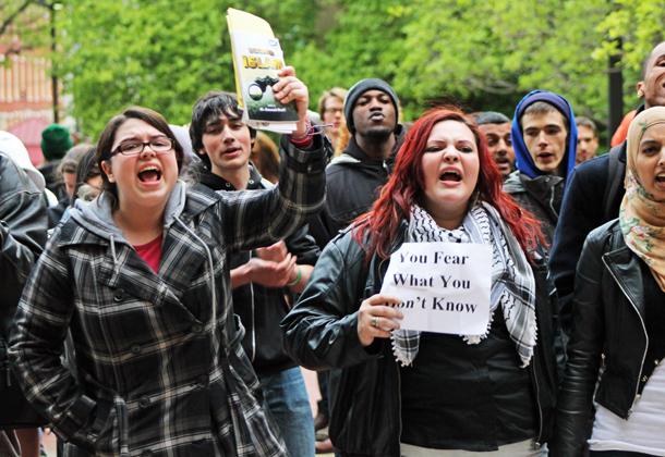 Temple University protest