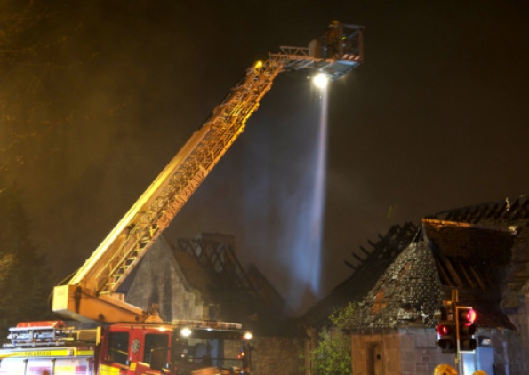 Carfin mosque fire