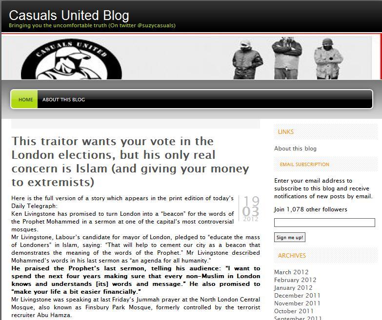 Casuals United love Andrew Gilligan
