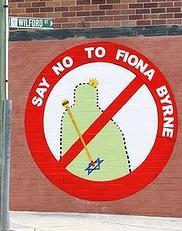 Fiona Byrne mural
