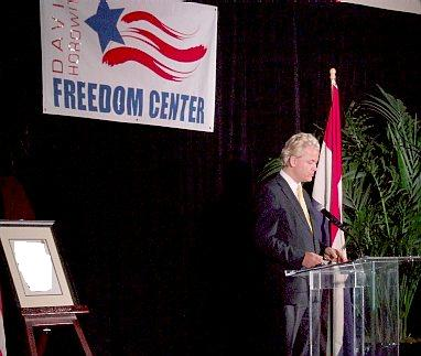Geert Wilders and David Horowitz Freedom Center