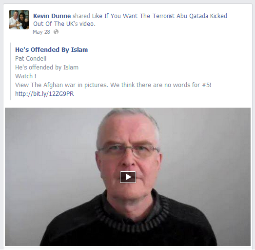 Kevin Dunne and Pat Condell