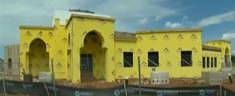 Murfreesboro Islamic Center under construction