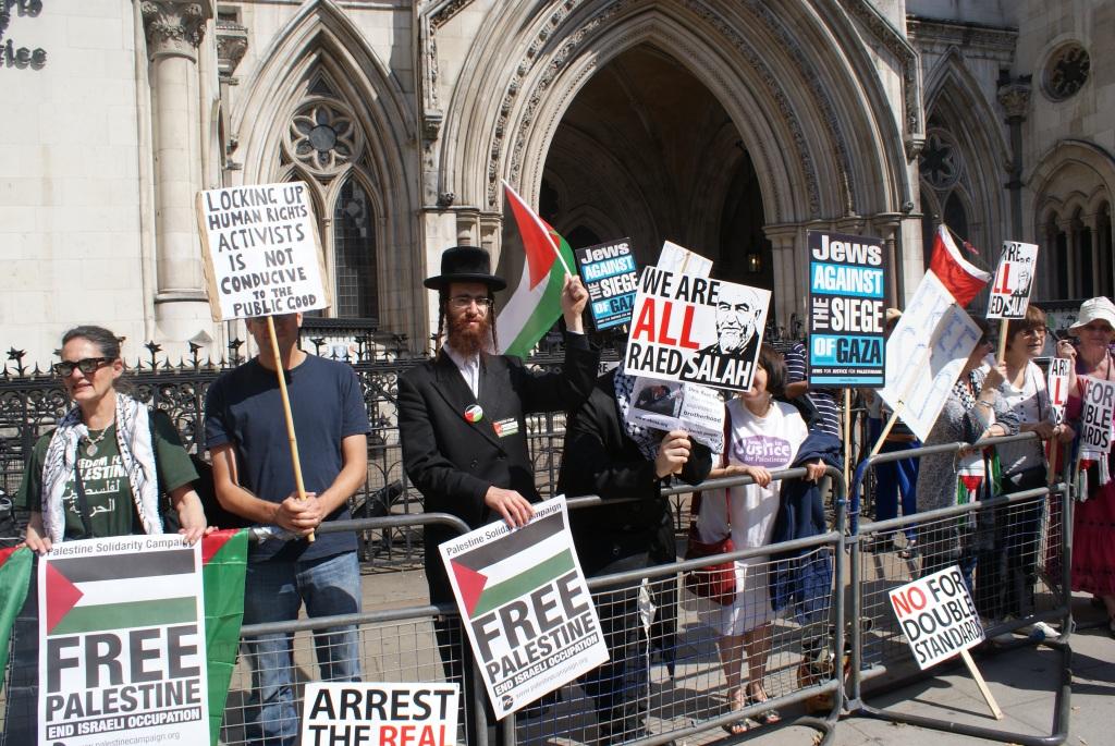 Raed Salah protest