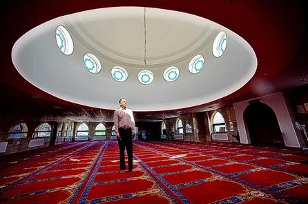 Regent Road mosque Hanley