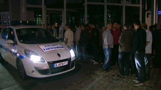 Reims demonstration