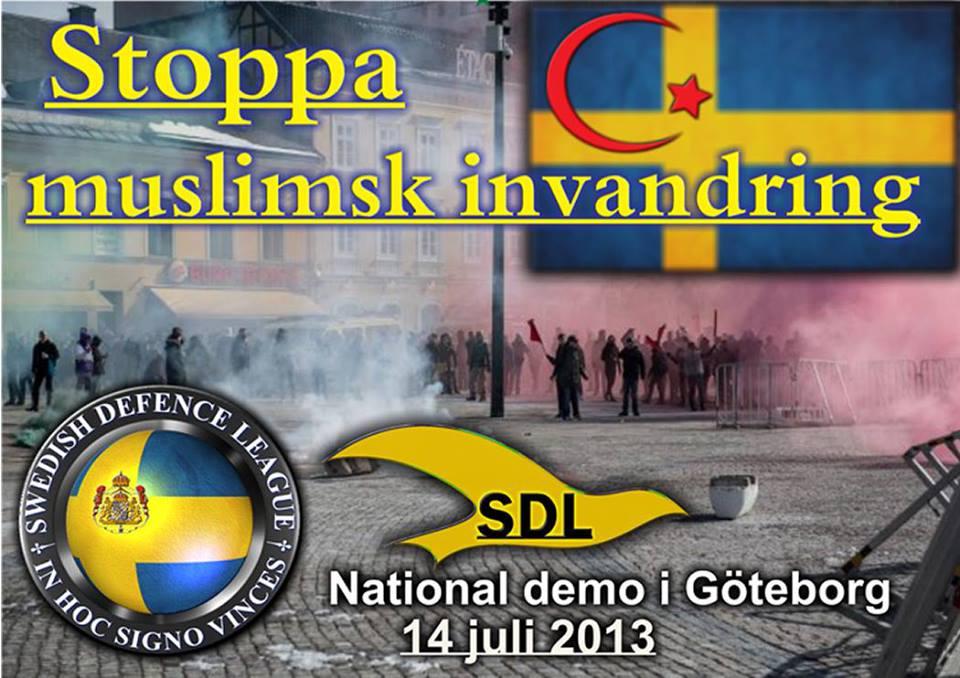 SDL Göteborg demo ad