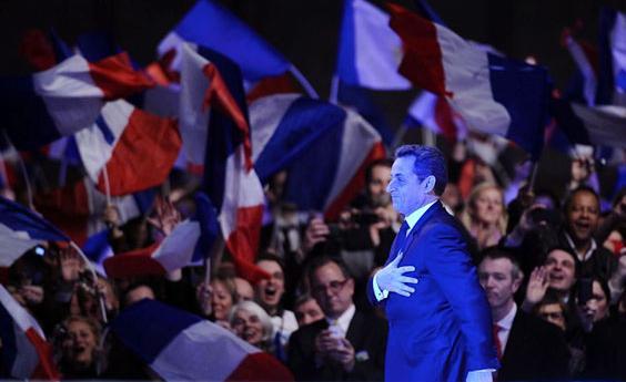Sarkozy rally