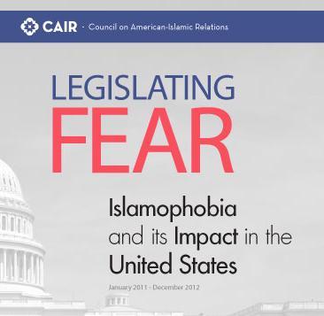 CAIR Legislating Fear