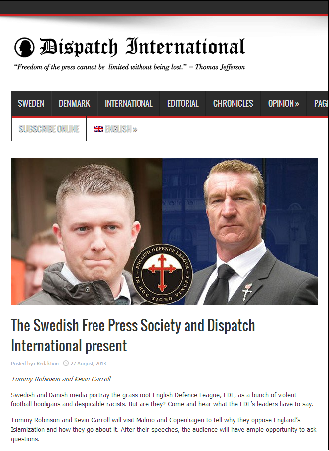 Dispatch International presents EDL