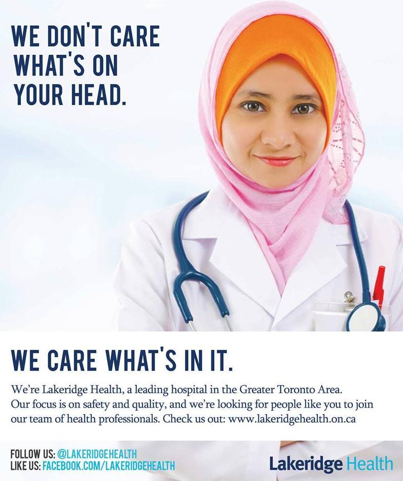 Lakeridge Health ad