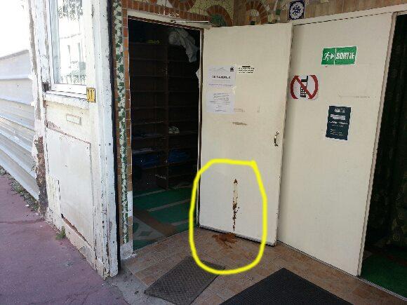 Montrouge mosque vandalism