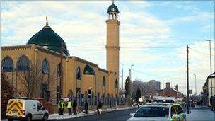 Stoke mosque arson