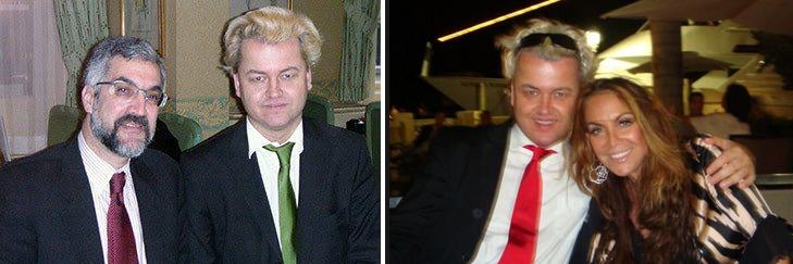 Wilders with Pipes and Geller