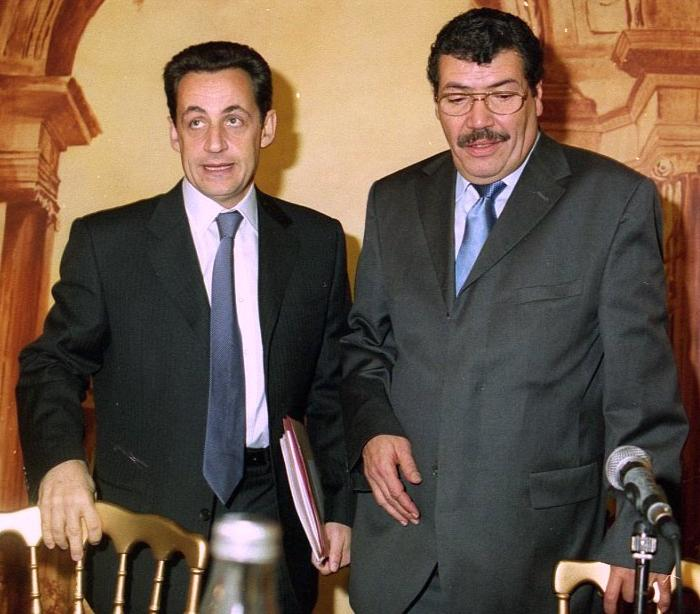 Abderrahmane Dahmane and Sarkozy