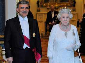 Abdullah Gul with Queen