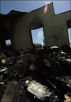 Adelanto prayer hall fire