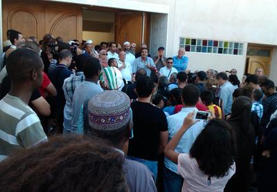 Al Forqane mosque demonstration