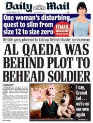 Al Qaeda Behind Plot