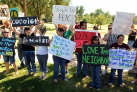 Amarillo protest against Quran burning