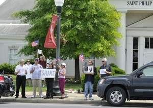 Anti-Wilders protest Tennessee
