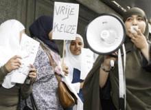 Antwerp school protest