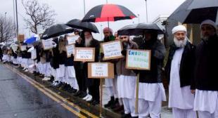 Asif Farooqui protest