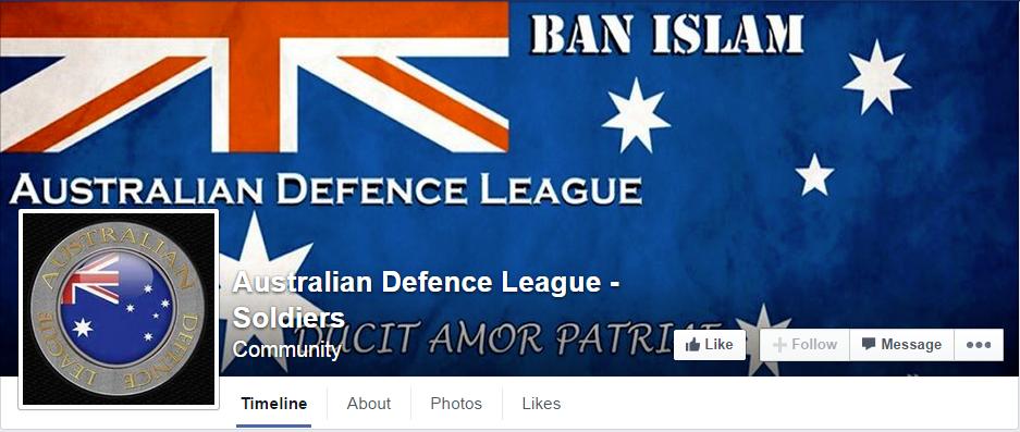 Australian Defence League - Soldiers
