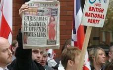 BNP demonstration
