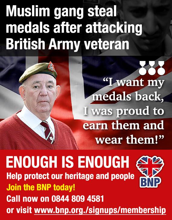 BNP exploits George Gill assault