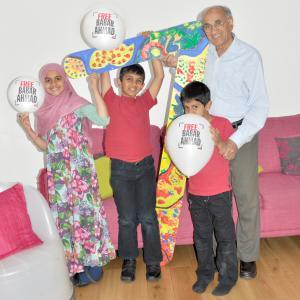 Babar Ahmad family