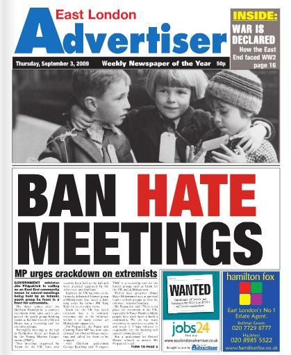 Ban Hate Meetings