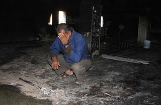 Beit Fajar mosque arson2