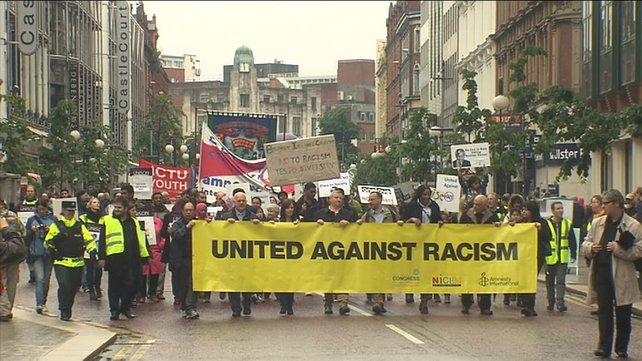 Belfast march against racism