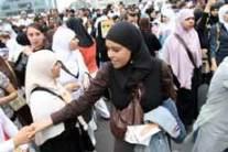 Belgian hijab campaign