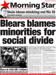 Blears blames minorities