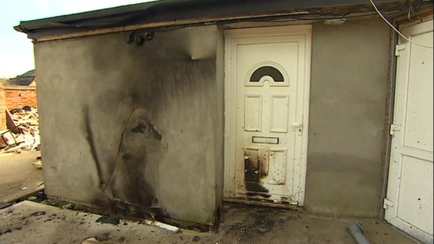 Bletchley mosque arson